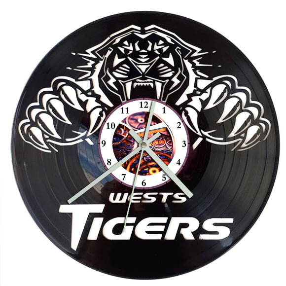 NRL West Tigers Clock