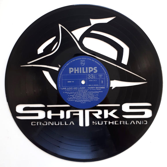NRL Cronulla Sharks Art