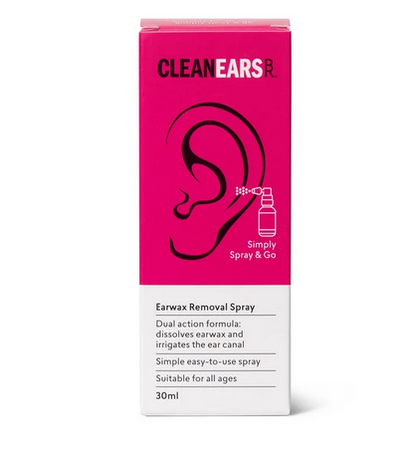 CleanEars- Ear Wax Removal Spray- 30ml