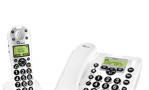 Oricom PRO910-1 Amplified Cordless/Corded Phone with Integrated Digital Answering System