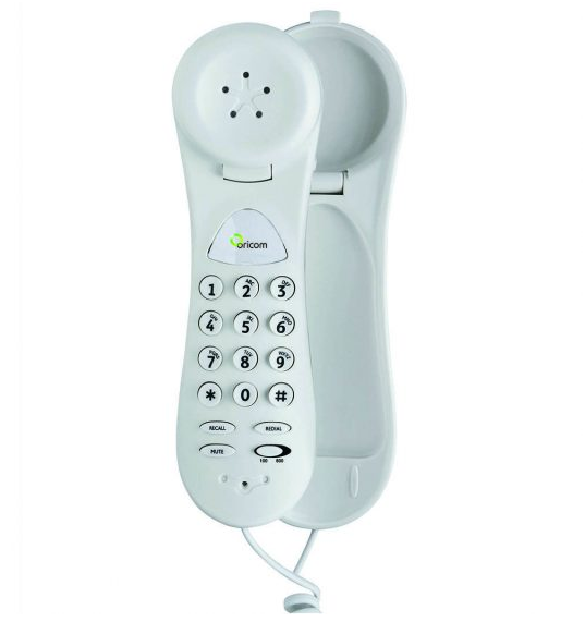 Trimline Corded Phone- T-coil Compatible