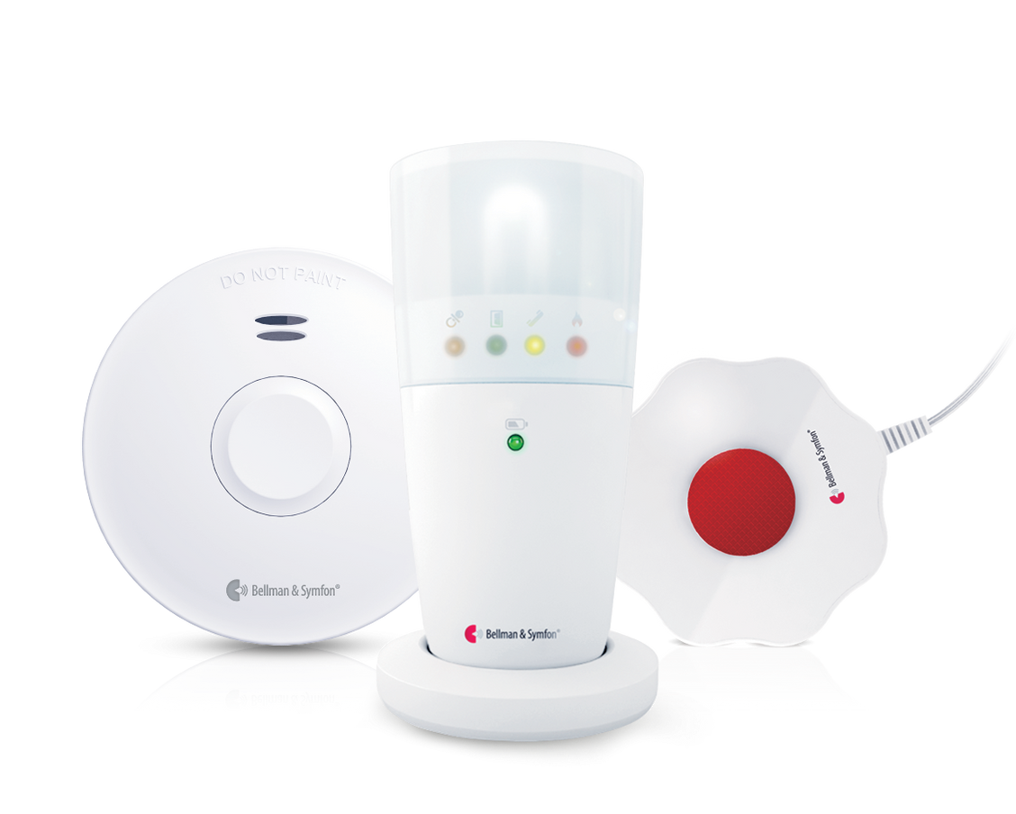 Bellman Visit Smoke Alarm Package