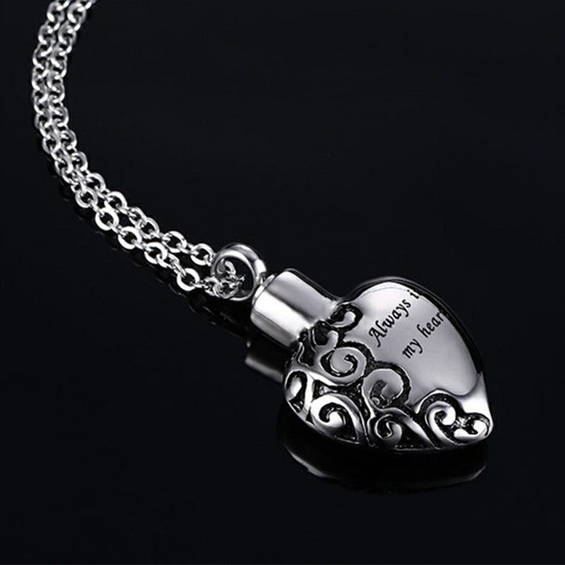 Urn Necklace Memorial Cremation Ashes Jewelry