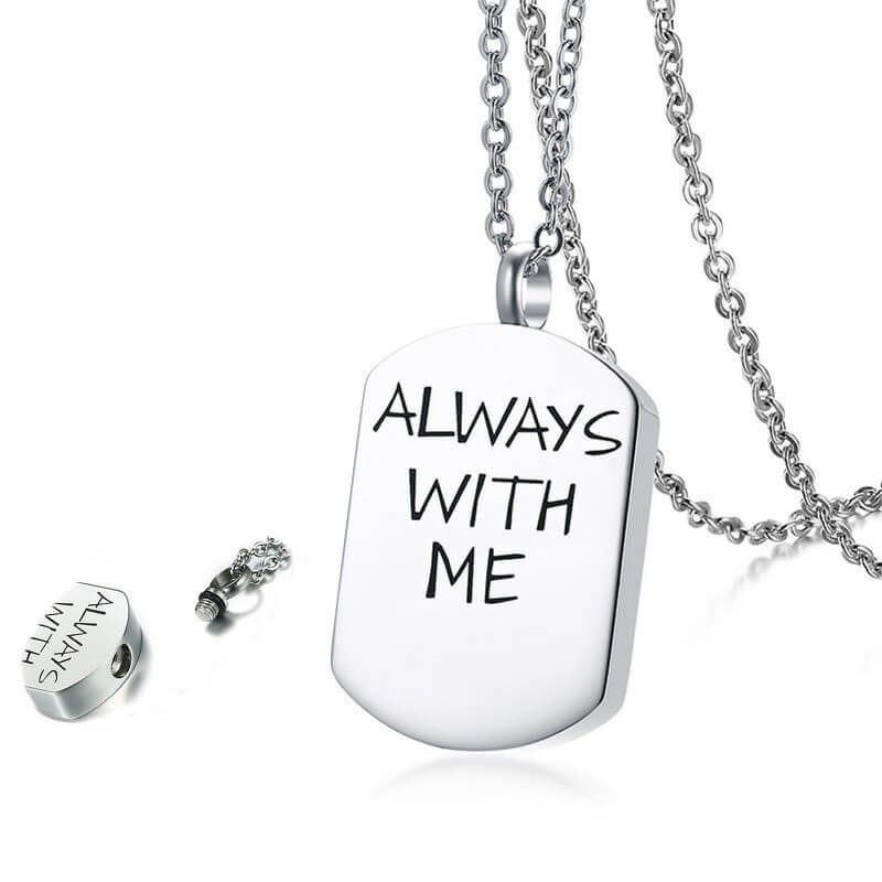 Memorial Cremation Urn Necklace Jewelry For Ashes