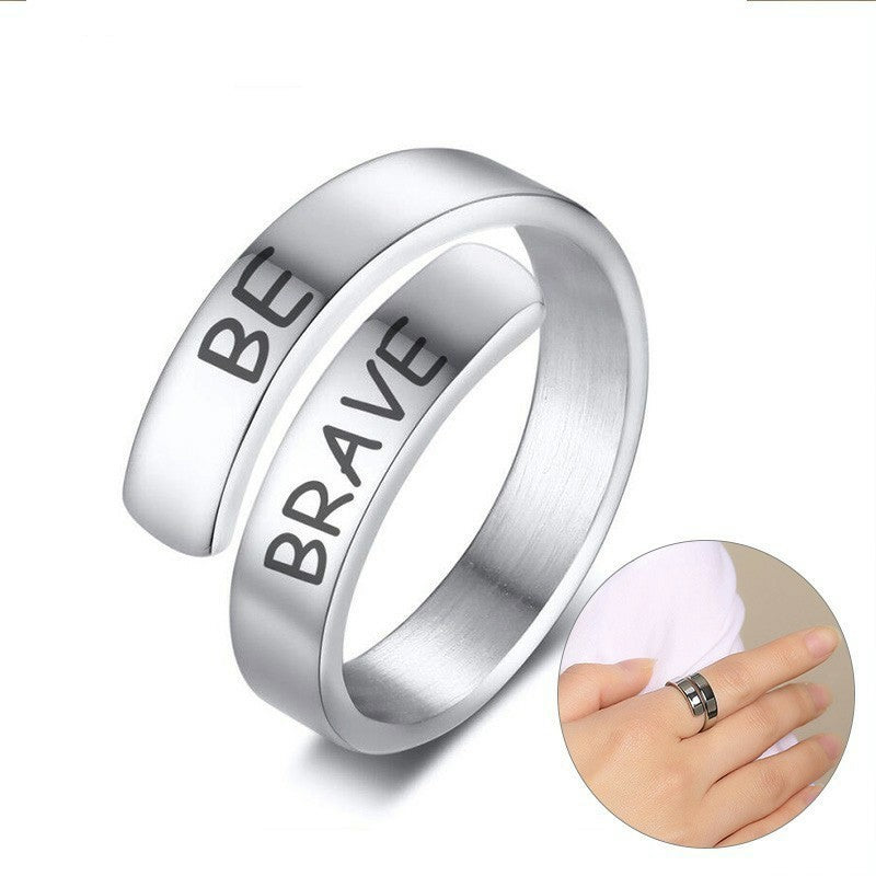 Personalized Ring For Women Girls Wrap Birthday Graduation Creative Custom Gifts