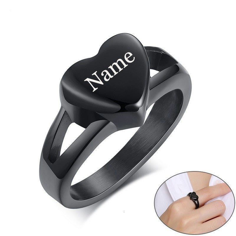 Keepsake Love Cremation Rings Urn Jewelry