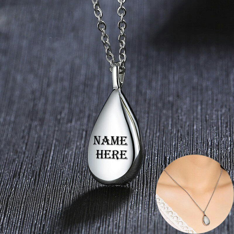keepsake memorial cremation jewelry necklace for ashes urn pendant