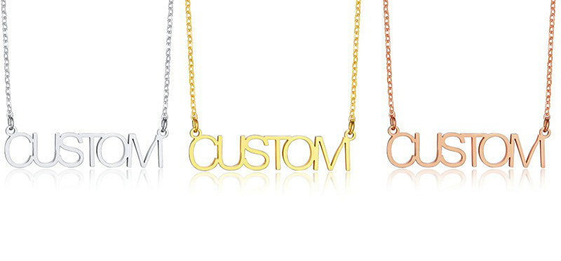 NAME Necklaces.