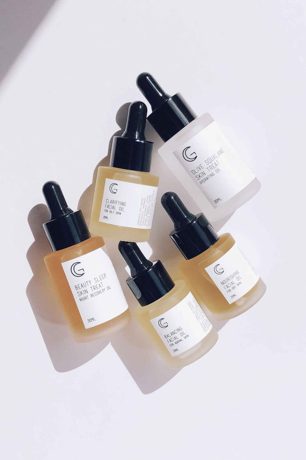 CLARIFYING FACIAL OIL FOR OILY SKIN