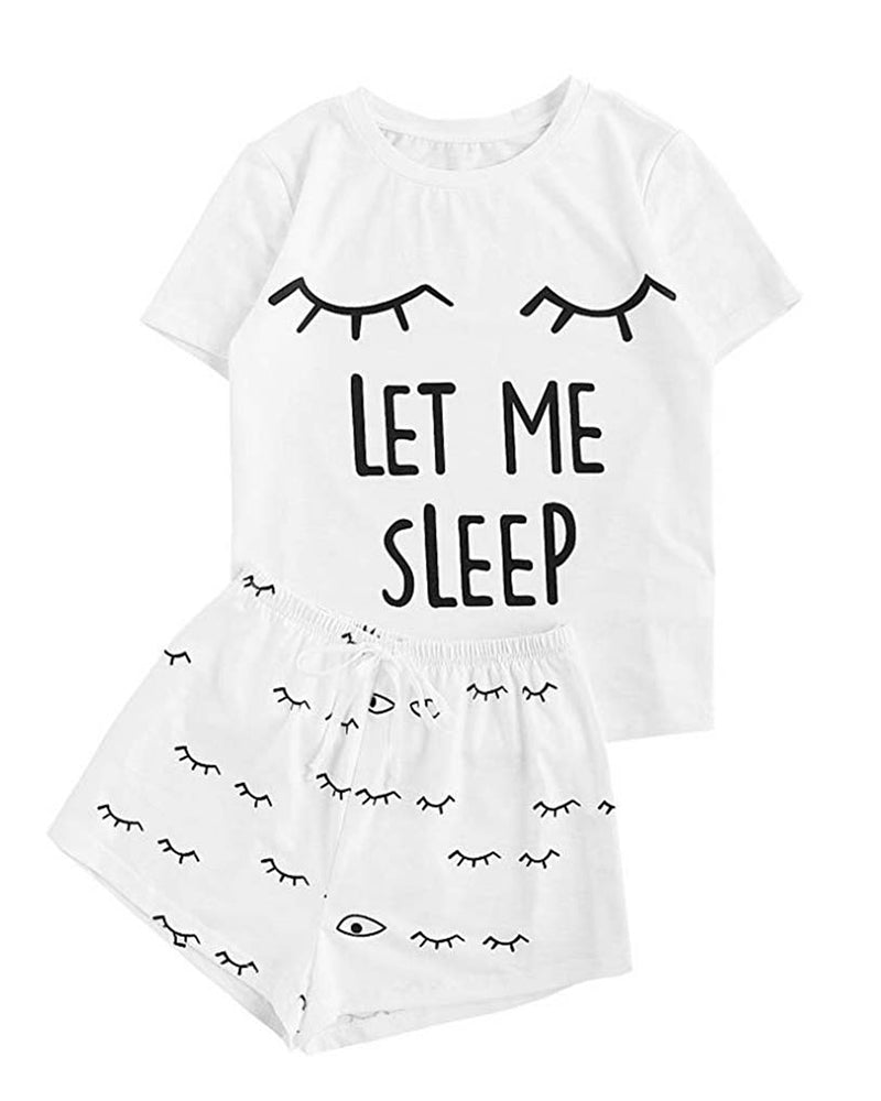 Let Me Sleep 2 Piece Set