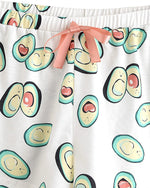 Avocado 2 Piece Short Sleeve Pajama Set