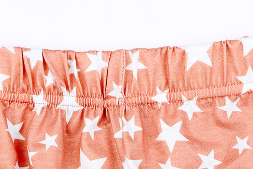 Orange Star 2 Piece Short Set