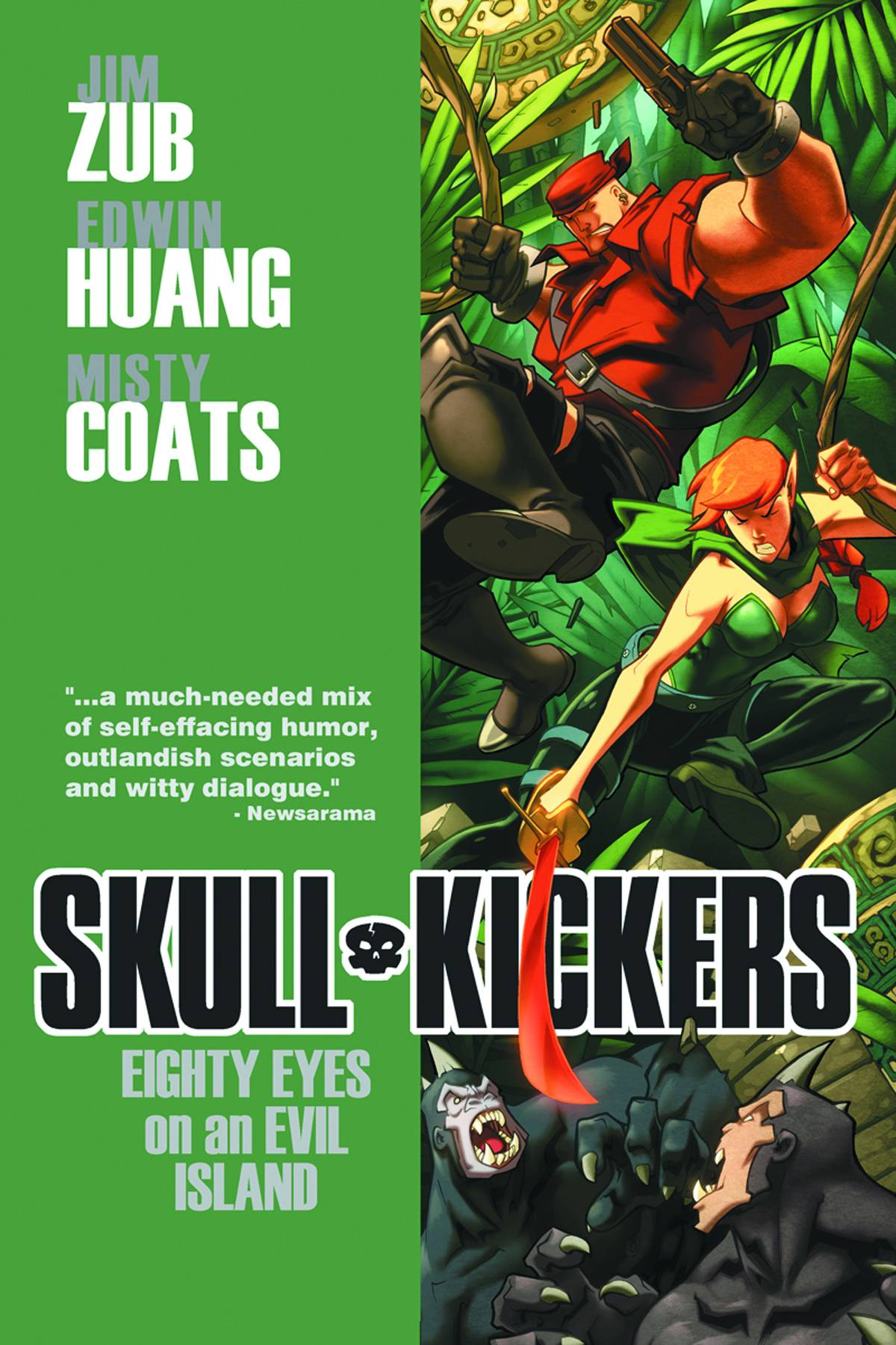 SKULLKICKERS TP VOL 04 EIGHTY EYES ON AN EVIL ISLAND