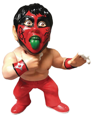 16D COLL LEGEND MASTERS GREAT MUTA 90S RED PAINT VINYL FIG