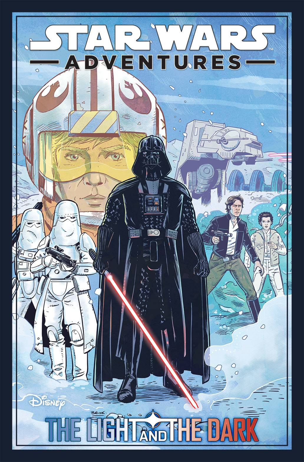 STAR WARS ADVENTURES (2020) TP VOL 01 LIGHT & DARK