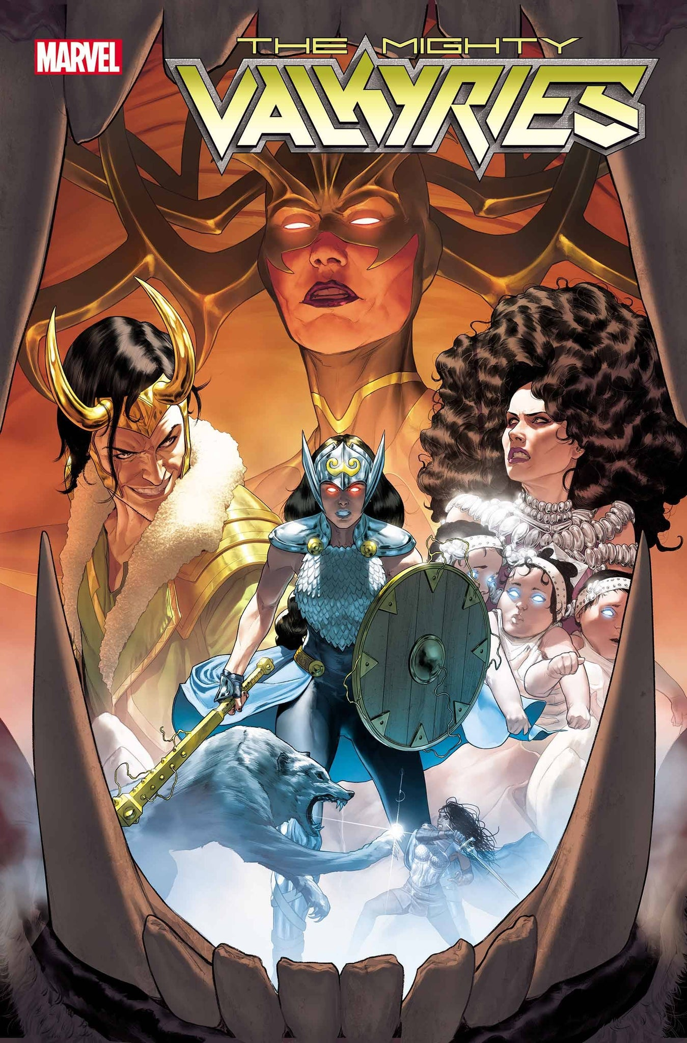 MIGHTY VALKYRIES #1 POSTER