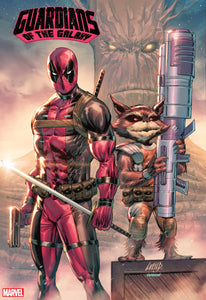 GUARDIANS OF THE GALAXY #13 LIEFELD DEADPOOL 30TH VAR