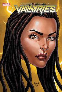 MIGHTY VALKYRIES #1 (OF 5) NAUCK HEADSHOT VAR