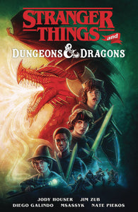 STRANGER THINGS & DUNGEONS & DRAGONS TP