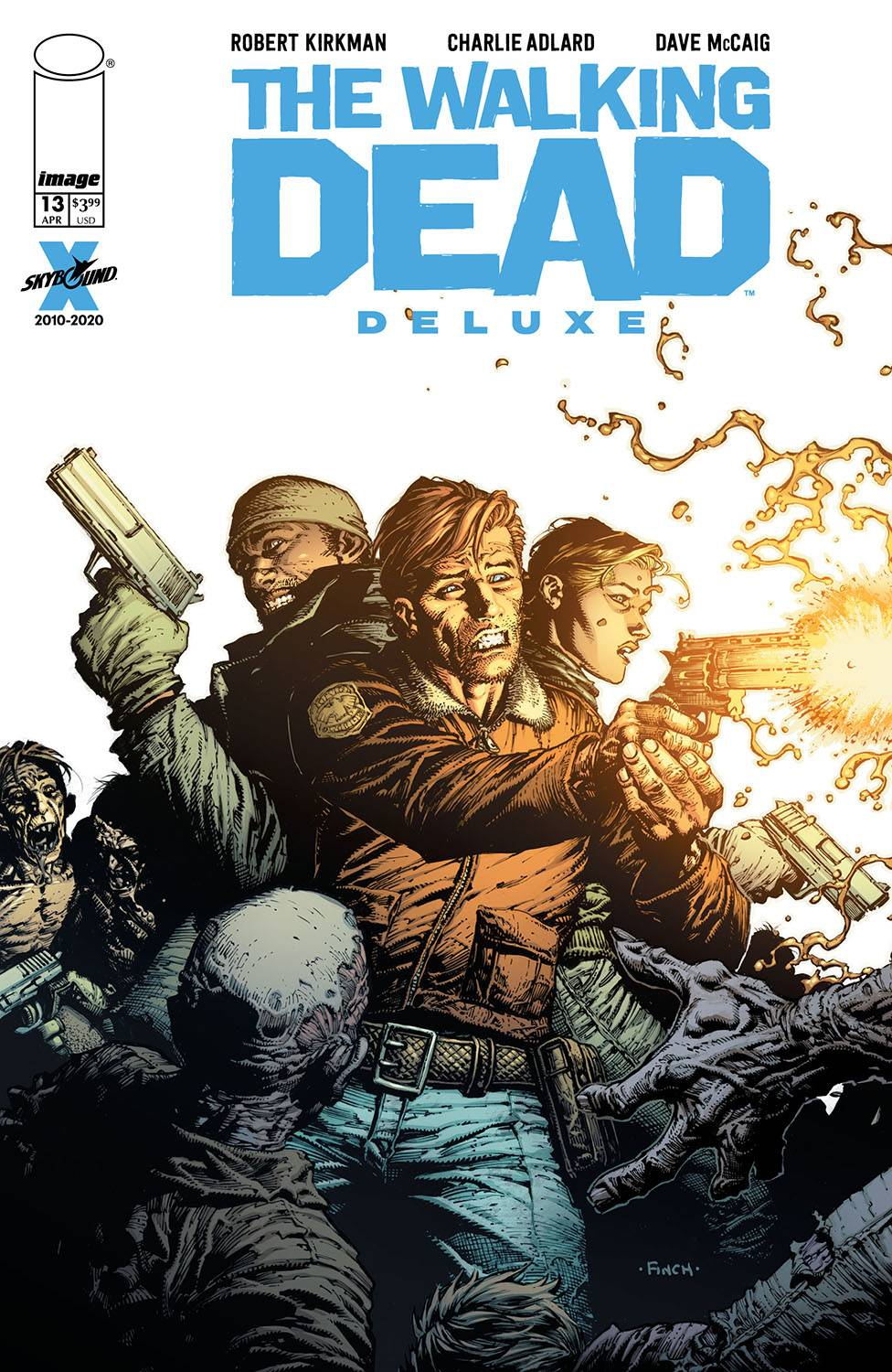 WALKING DEAD DLX #13 CVR A FINCH & MCCAIG