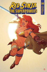 RED SONJA THE SUPERPOWERS #4 CVR E KANO
