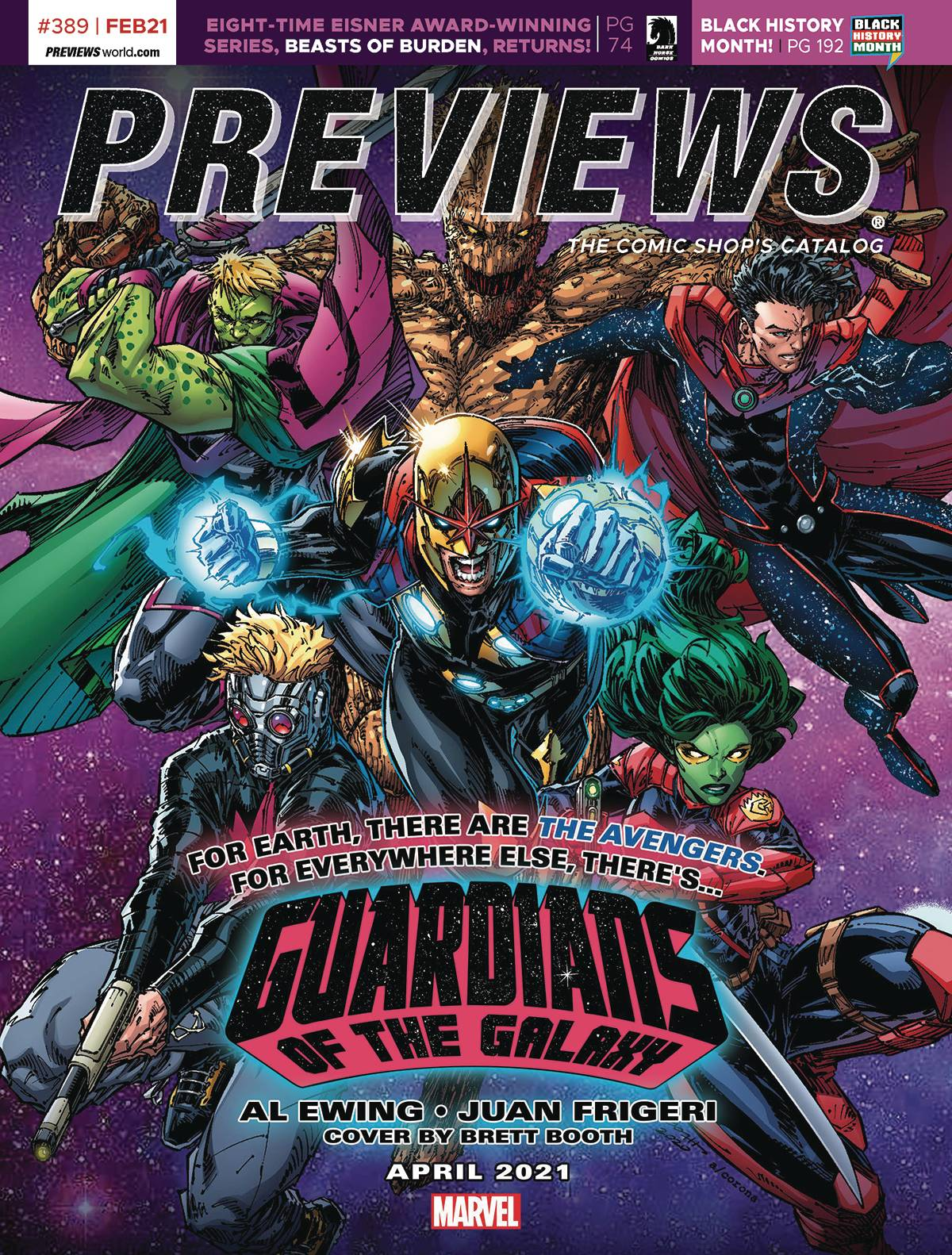 PREVIEWS #391 APRIL 2021