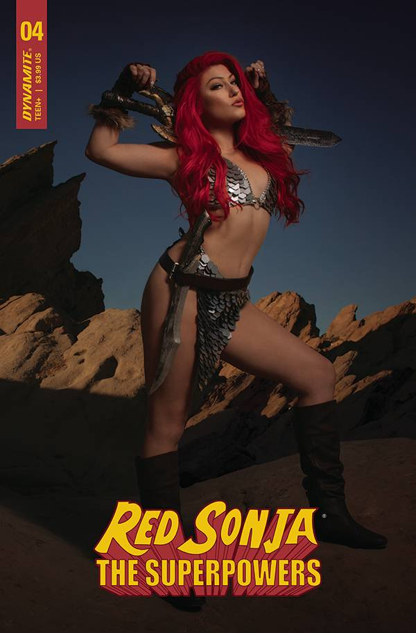 RED SONJA THE SUPERPOWERS #4 CVR H HOLLON COSPLAY