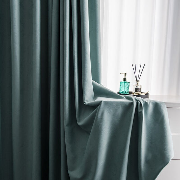 Astor Rideaux Electric Engraved Blackout Curtains - Curtains Online - Discover-curtains
