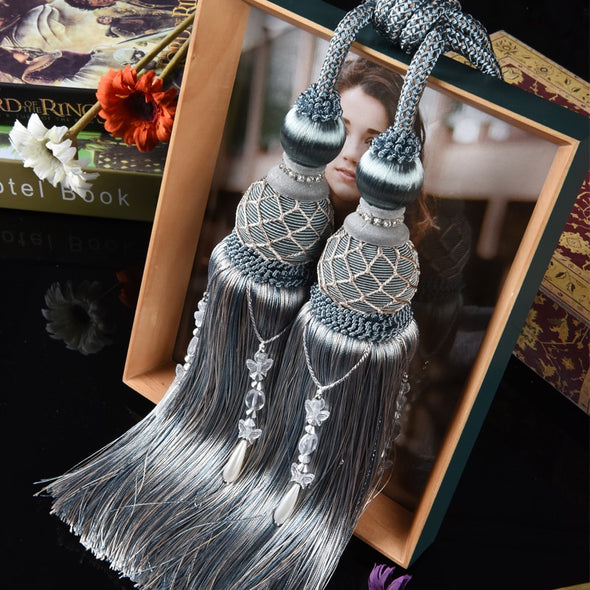 Grace Decorative  Tassel Tieback - Curtains Online - Discover-curtains