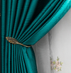 Taylor.H Silk Modern Minimalist Blackout Curtain - Curtains Online - Discover-curtains