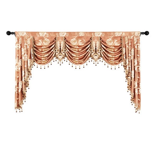 Rémy European Jacquard Valance - Curtains Online - Discover-curtains