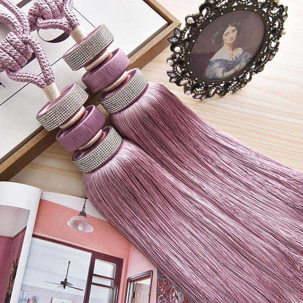 Kara Disc Brush Curtain Tieback - Curtains Online - Discover-curtains