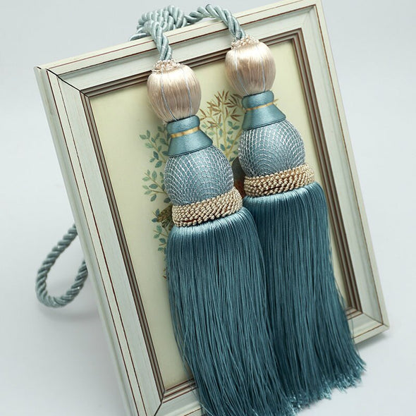 Kara Curtain Brush Tiebacks - Curtains Online - Discover-curtains