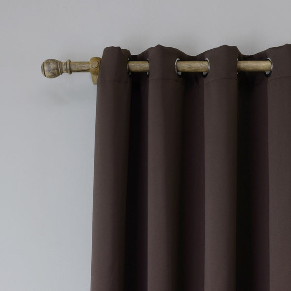 Jason Modern Plain Blackout Curtains - Coffee - Curtains Online - Discover-curtains