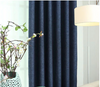 Modern Manhattan Linen Blackout Curtains - Blue - Curtains Online - Discover-curtains