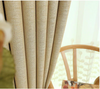 Modern Manhattan Linen Blackout Curtains - Ivory - Curtains Online - Discover-curtains