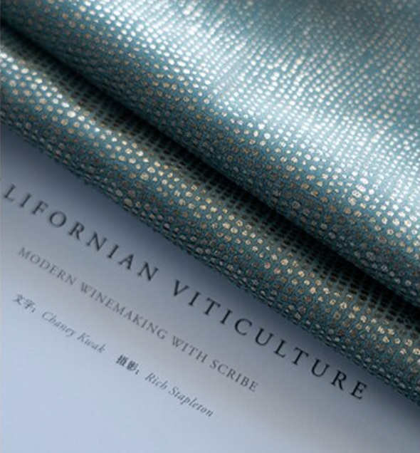 Brittany Luxury Sparkly Blackout Velvet Curtains - Haze Blue - Curtains Online - Discover-curtains
