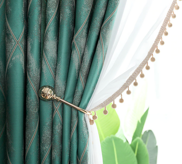Jason Luxury Diamond Shades Curtain - Curtains Online - Discover-curtains