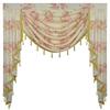 Ethan Flower Pastoral Curtains Valance - Curtains Online - Discover-curtains