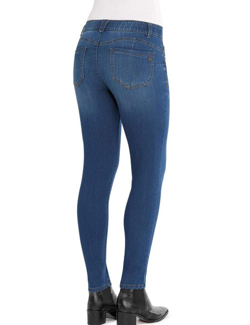 Booty Lift Straight Leg Jean Blue Democracy