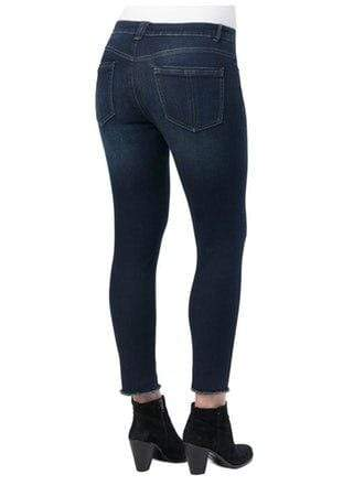 Indigo Luxe Touch High Rise Seamless Ankle Skimmer Jeans Democracy