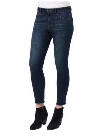 Indigo Luxe Touch High Rise Seamless Ankle Skimmer Jeans Democracy 2