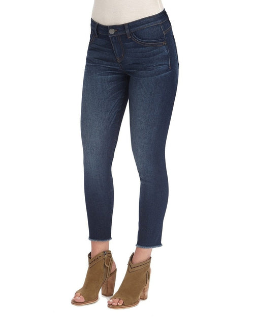 Luxe Touch High Rise Seamless Ankle Skimmer Jeans Democracy