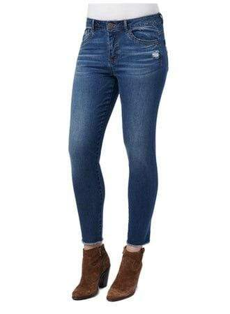 Luxe Touch High Rise Seamless Ankle Skimmer Jeans Democracy 2