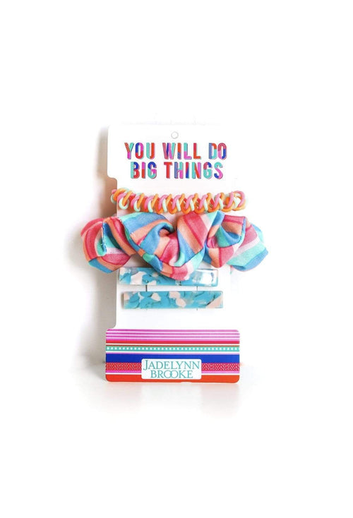 Hair Set - You Will Do Big Things Jadelynn Brooke Hair Accessories