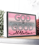 Happy Quote Box - God Is Good Jadelynn Brooke Sign