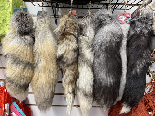 Assorted Fox Tails Old Skool Boutique Fox Tail