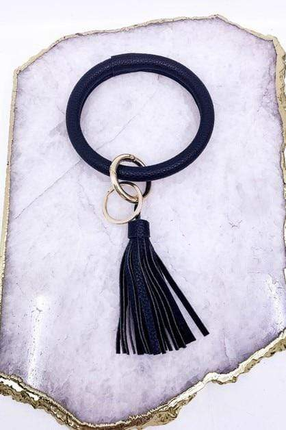Bangle Key Ring vendor-unknown Black