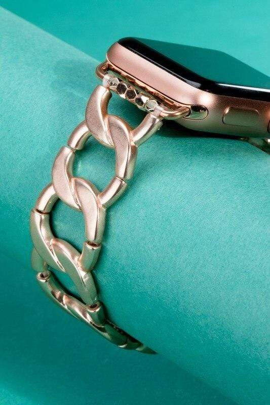 Curb Chain Apple Watch Bracelet vendor-unknown
