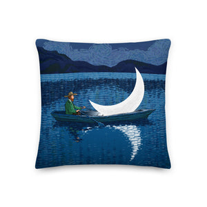 The wandering man  -  Premium Pillow